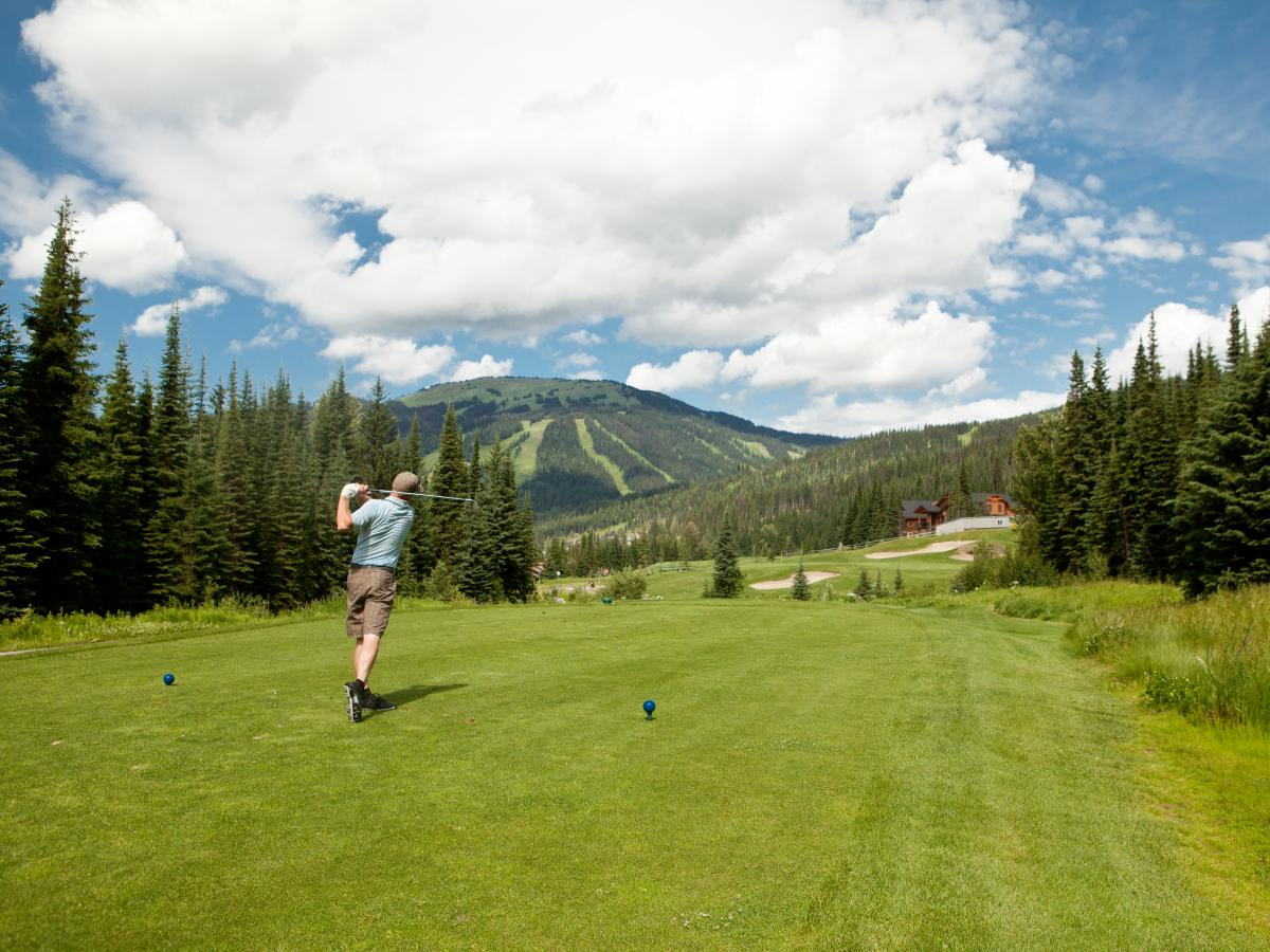 Sun Peaks Golf Course Mountain View