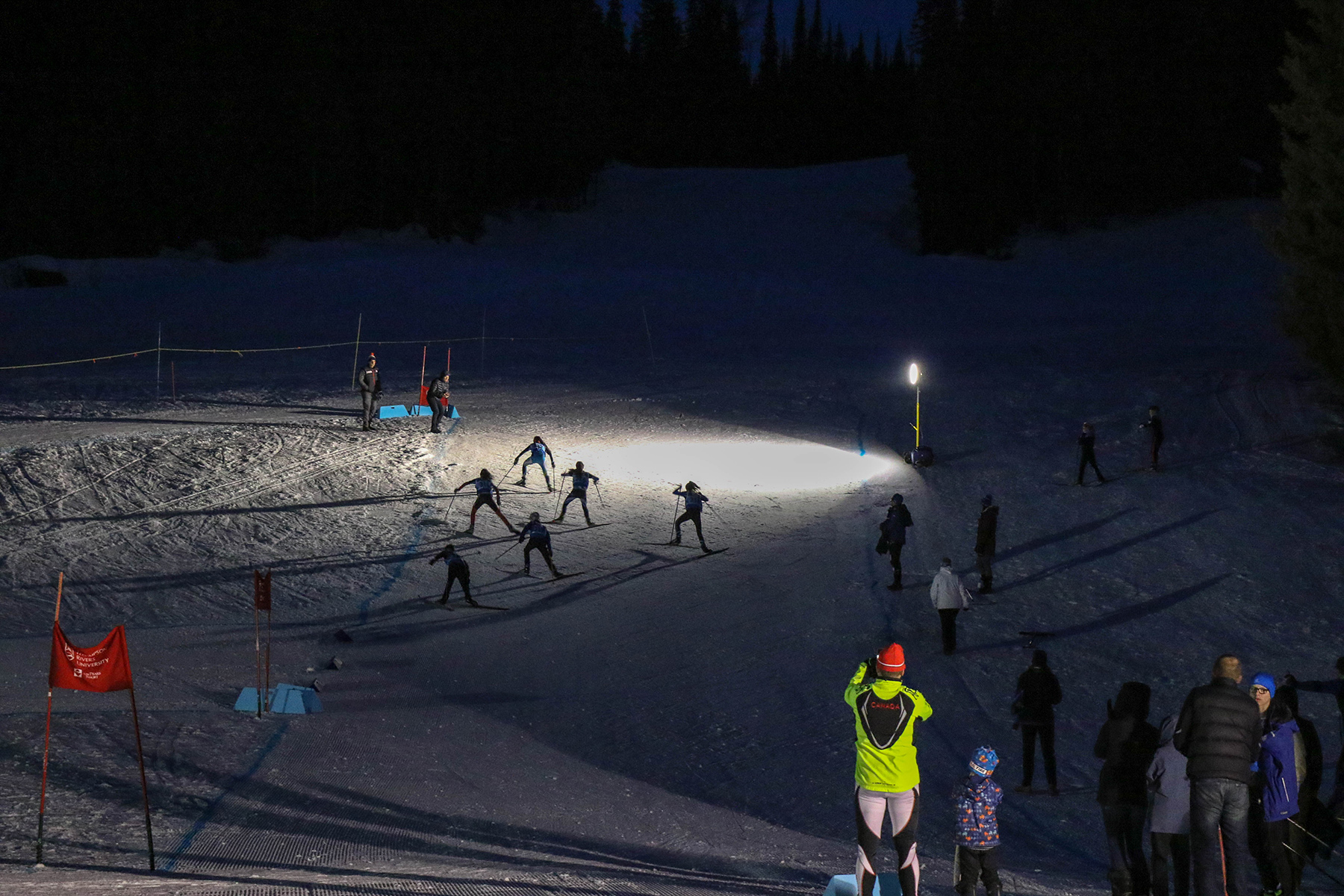 Sprint Challenge at the Sun Peaks Nordic Festival