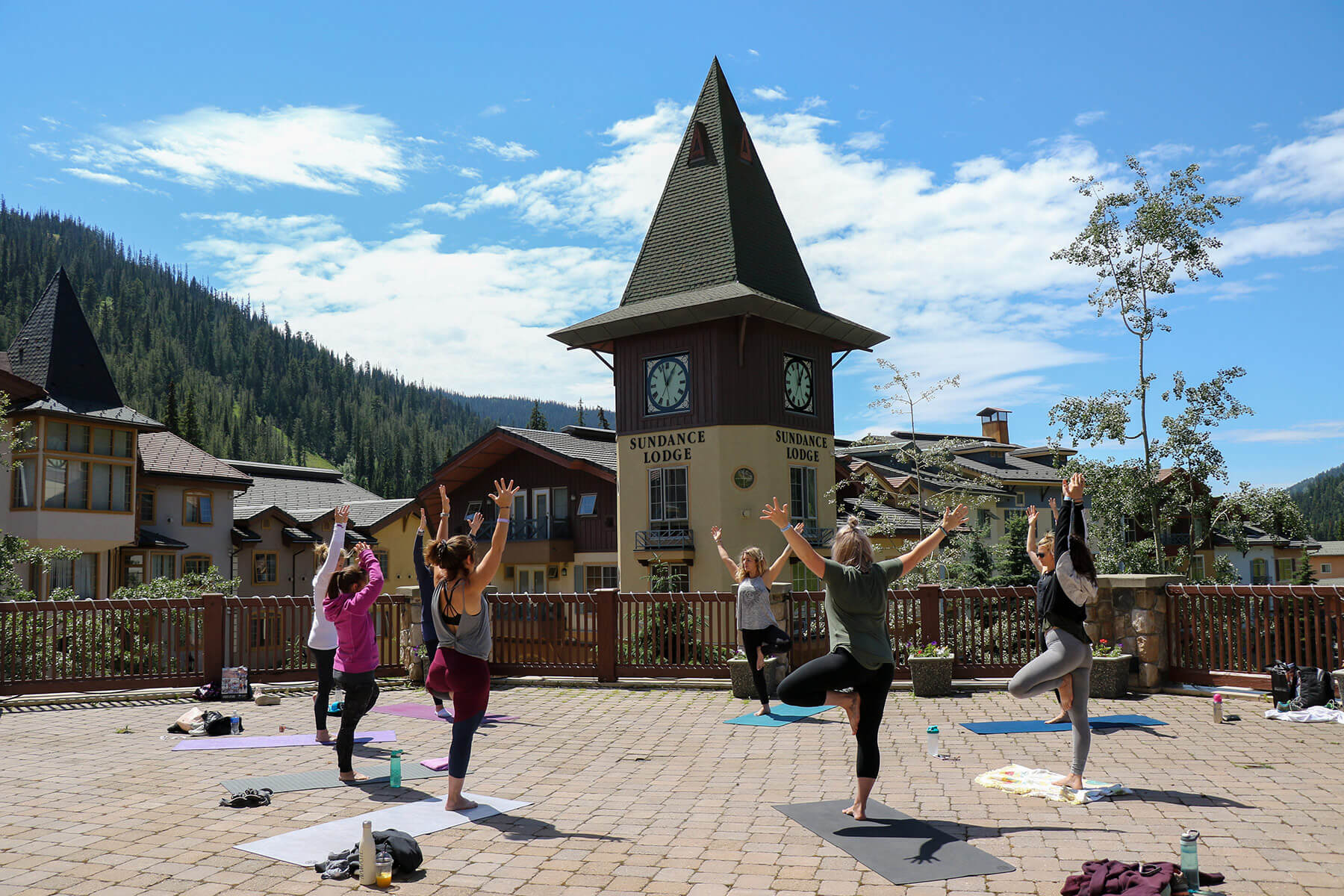 Slopeside Yoga at Sun Peaks Resort