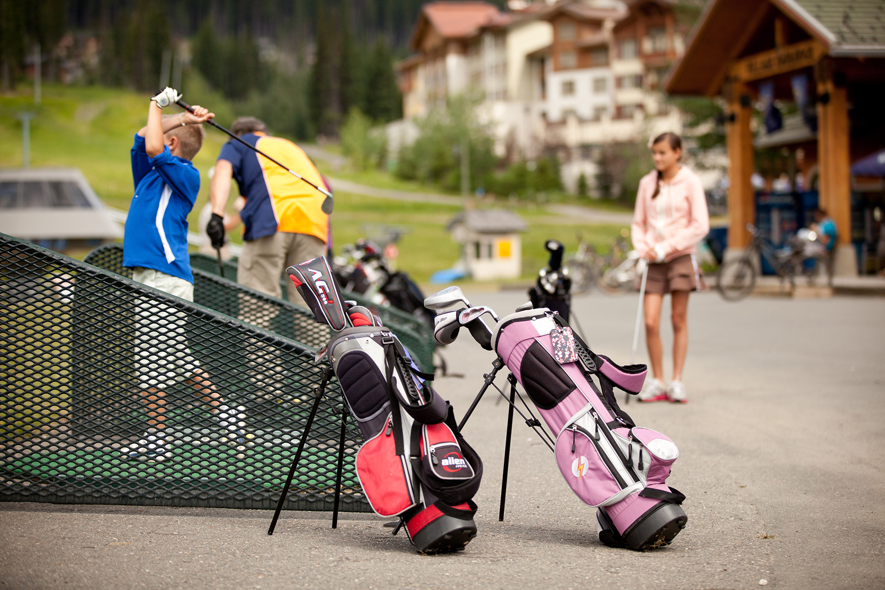Driving Range at Sun Peaks Resort