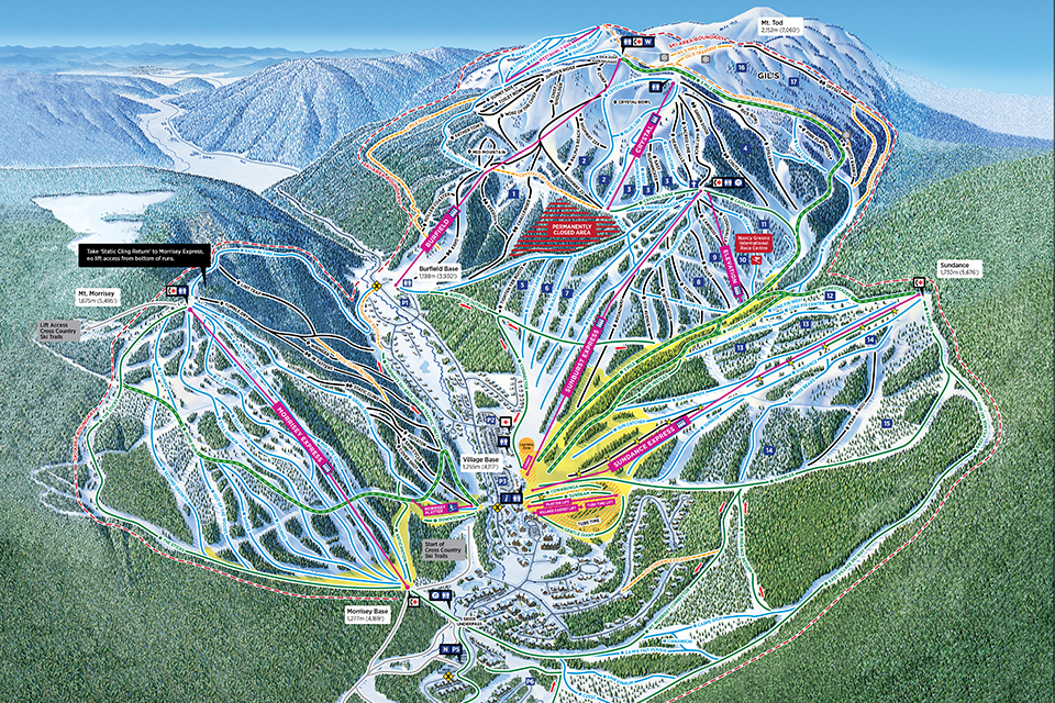 2017-18 Alpine Map