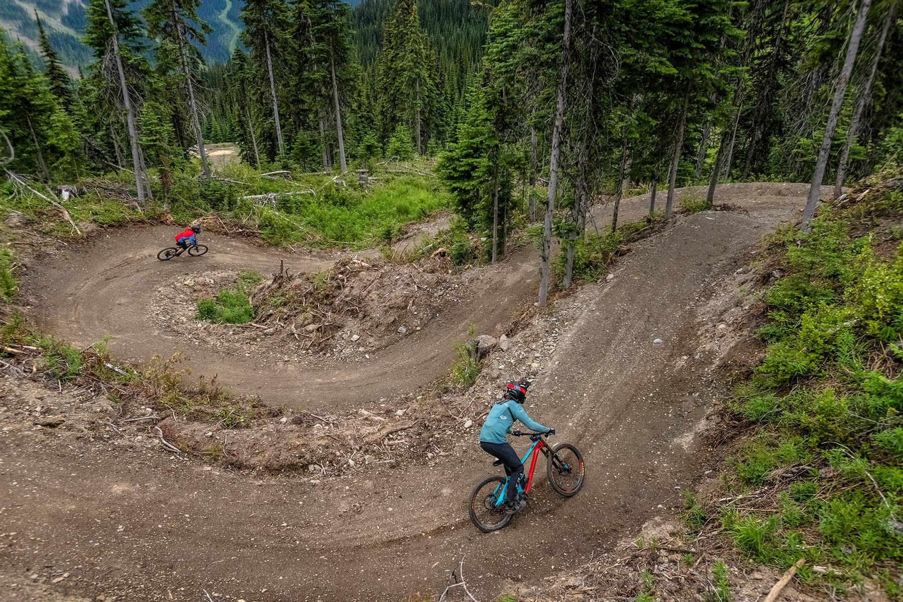 Level Up Mountain Bike Trail at Sun Peaks Resort