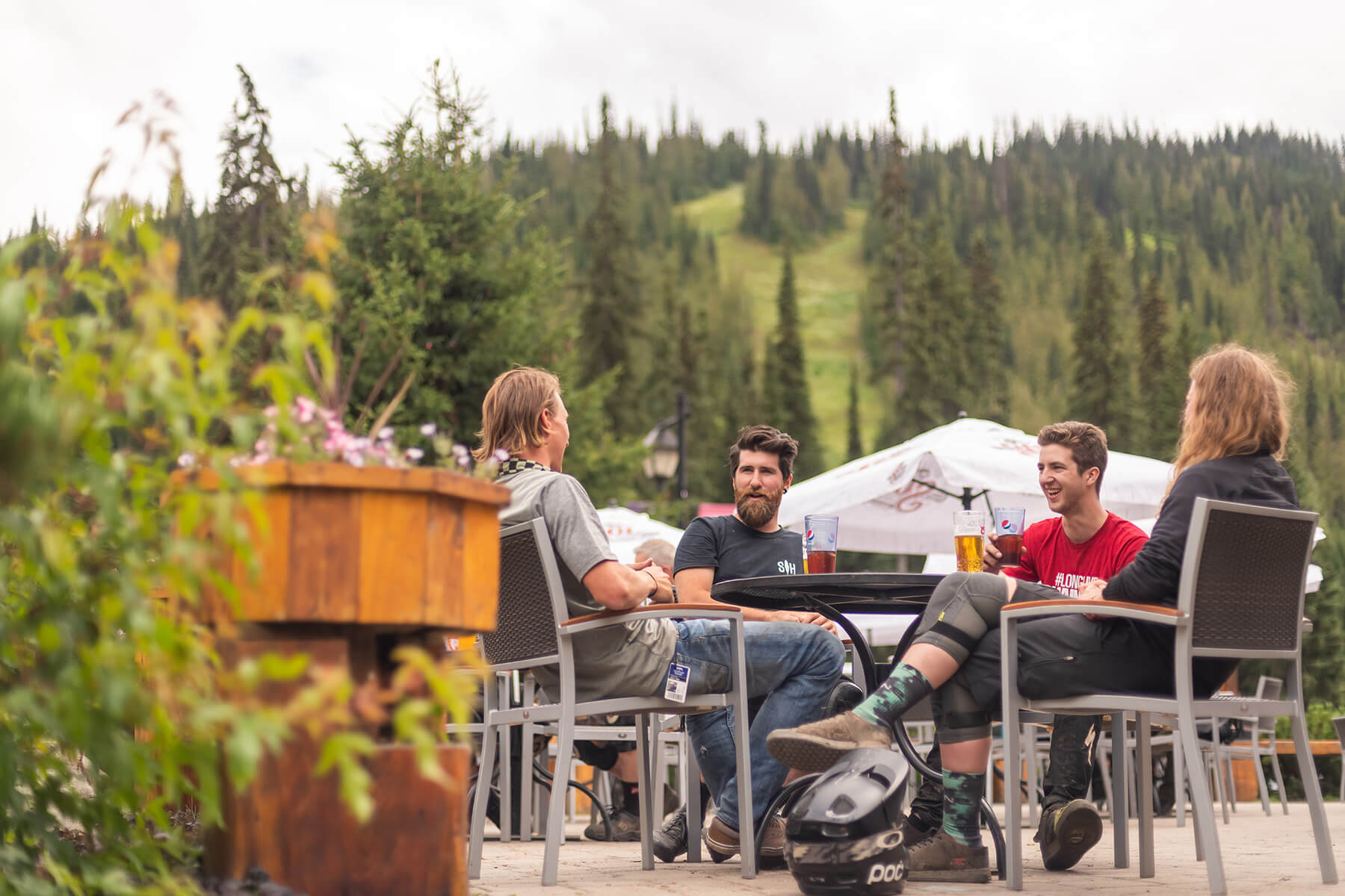 Summer Dining at Sun Peaks Resort