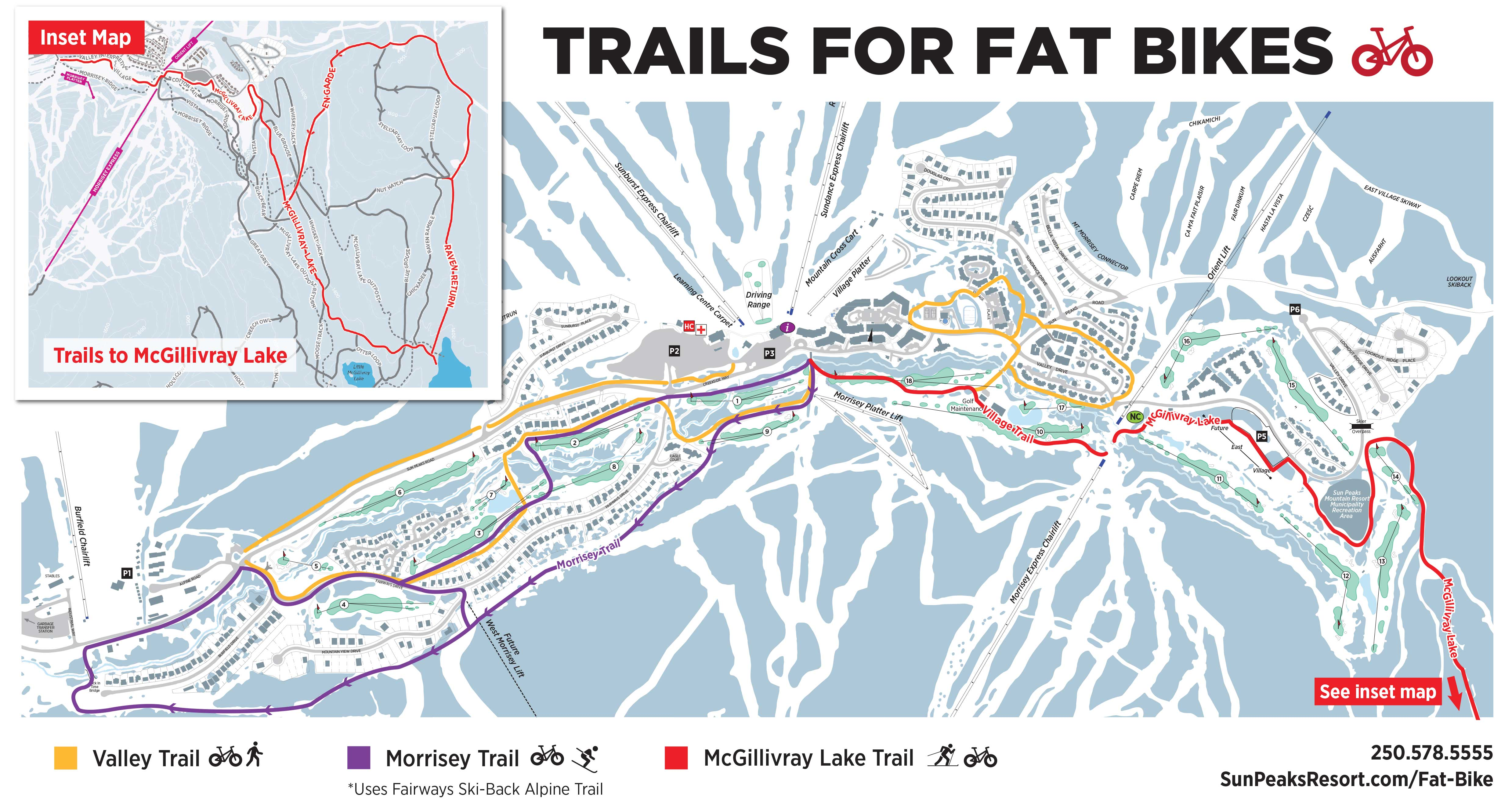 Fat Biking Map