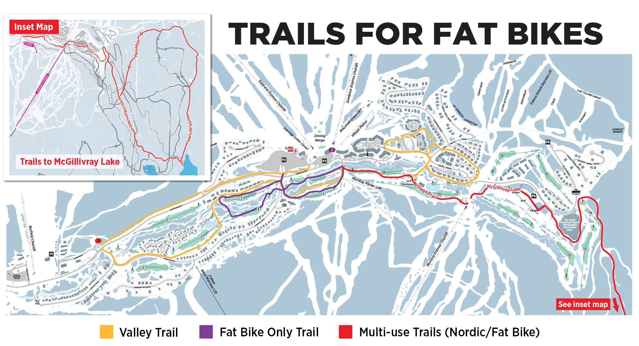 Trails for Fat Bikes