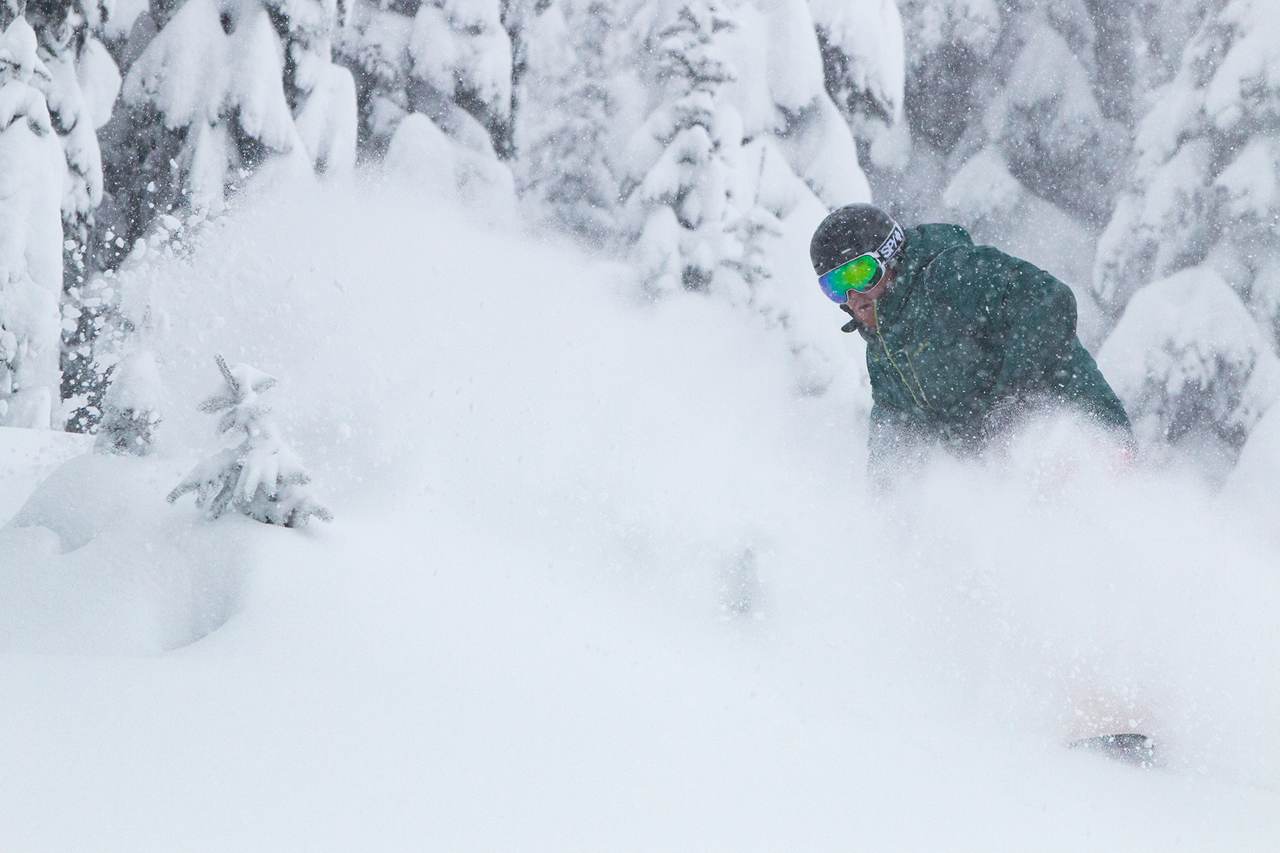 Powder on November 15, 2017.