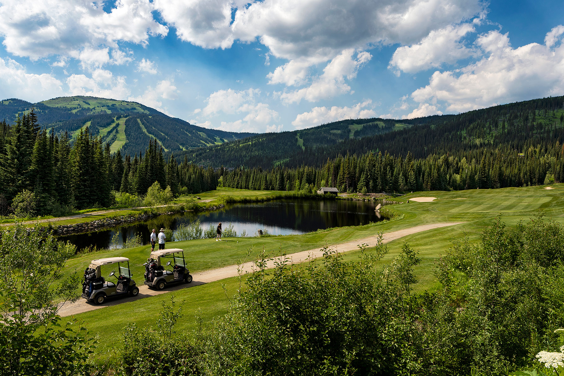 The Golf Course at Sun Peaks Resort
