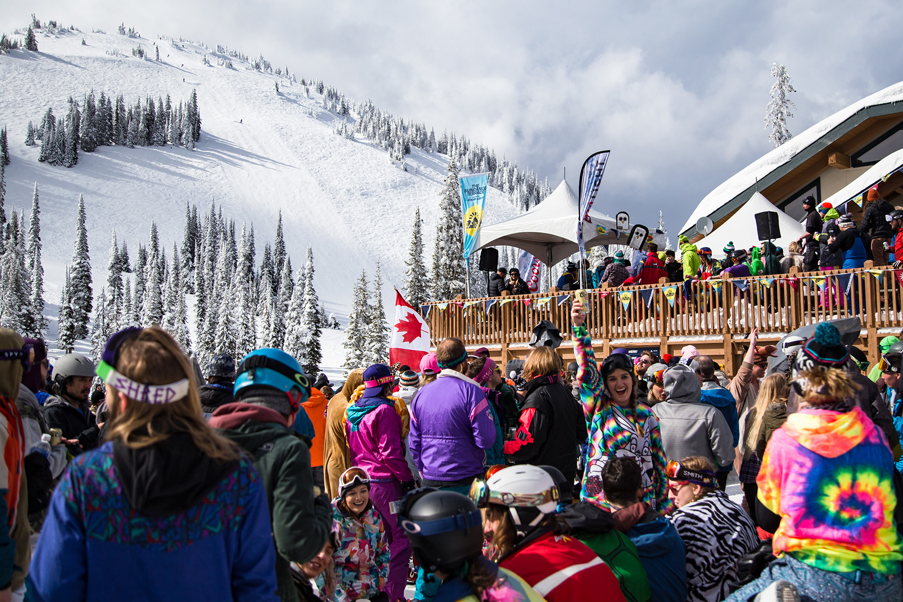 Snowbombing Canada at Sun Peaks Resort