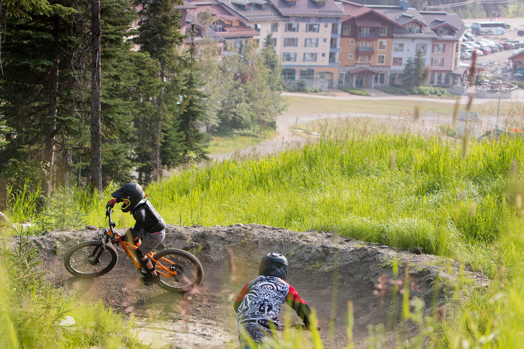 The Progression Park at Sun Peaks Bike Park