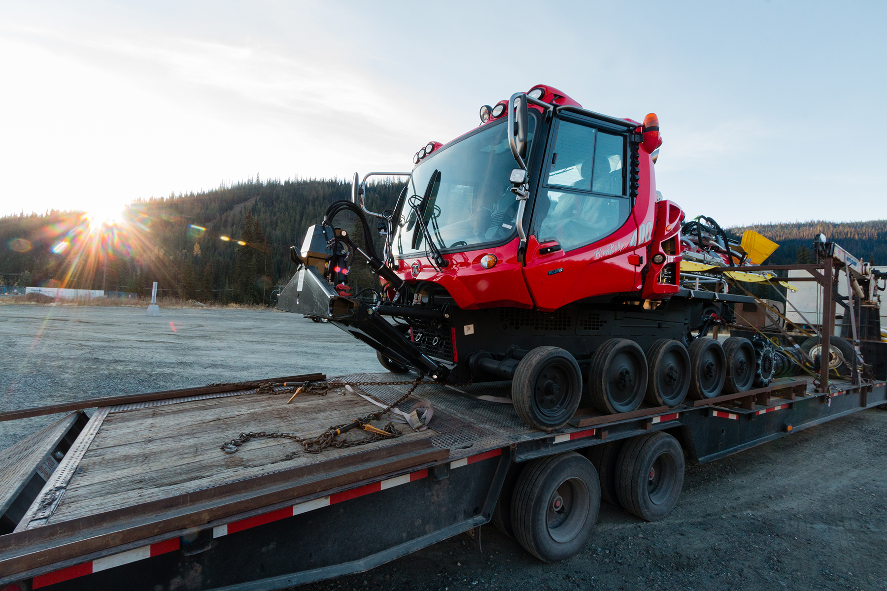 New PistenBully 400 4F Grooming Cat