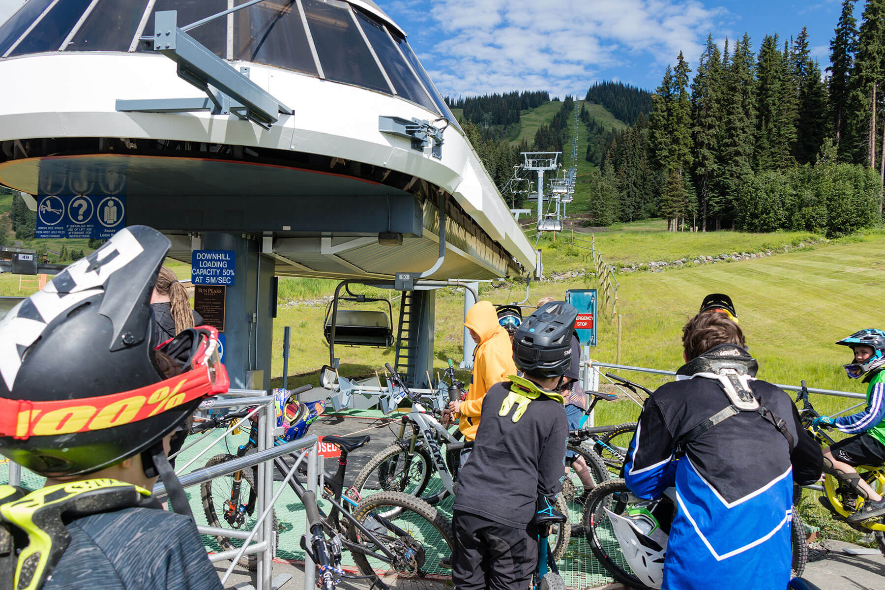 2019 Opening Day of the Sun Peaks Bike Park