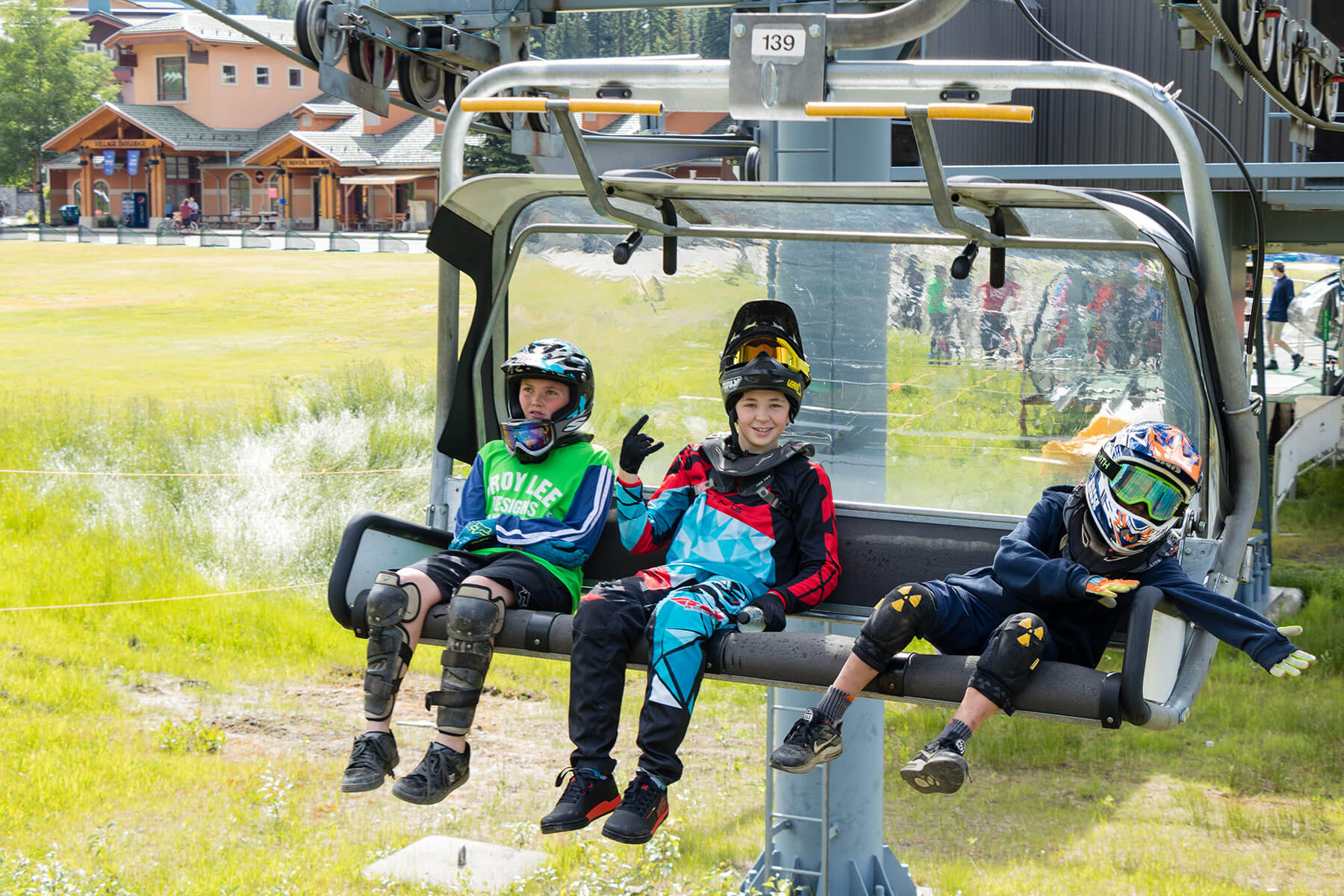 Bike Park Chairlift