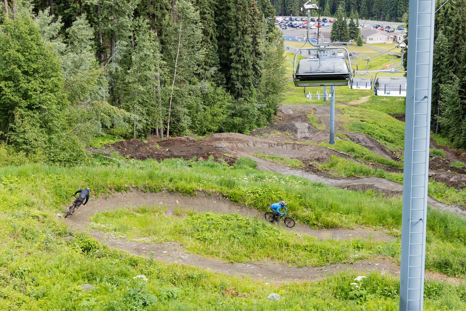 Mountain Biking at Sun Peaks Bike Park