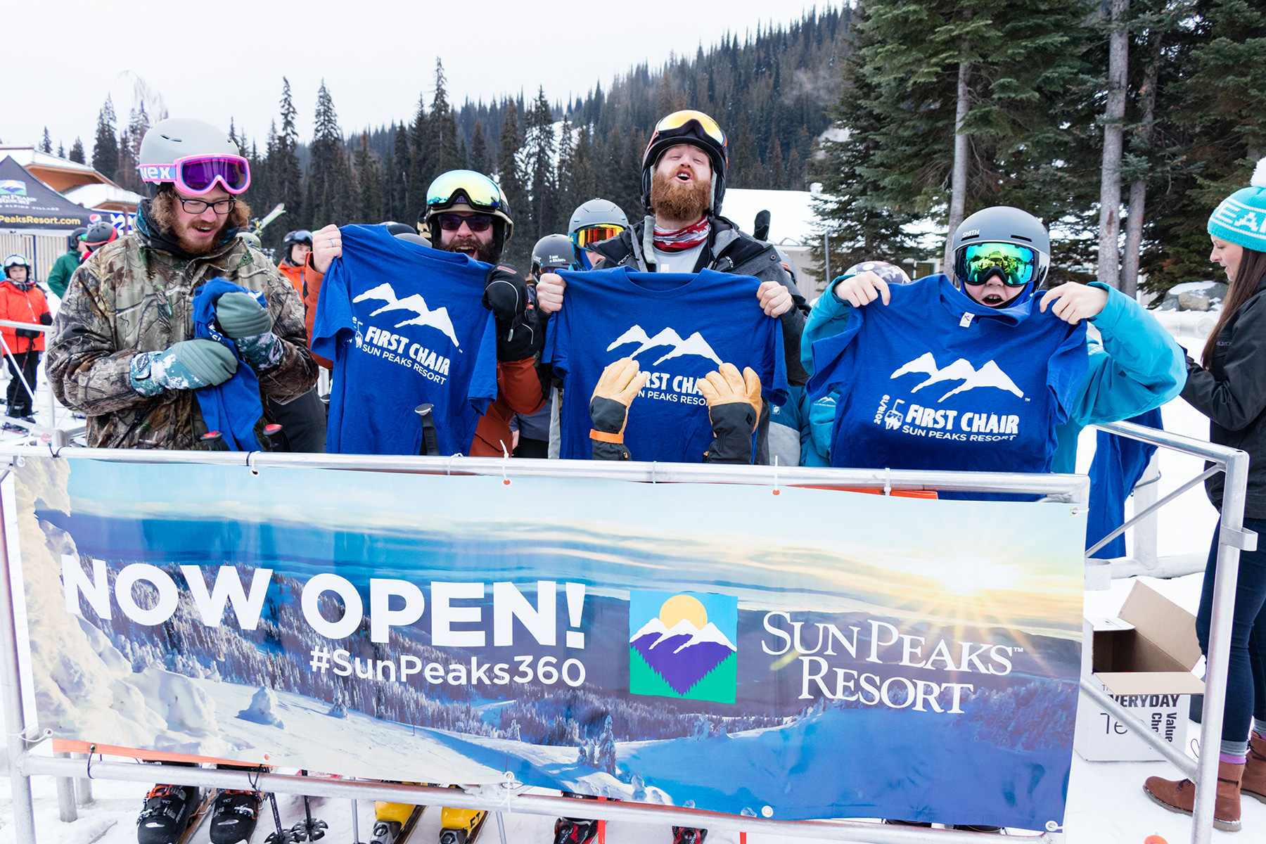 First Chair T Shirts on Opening Day