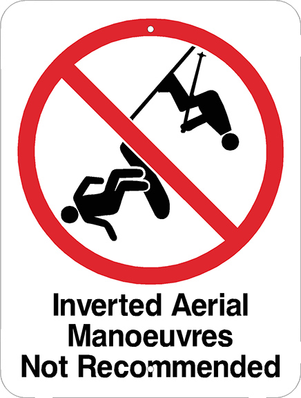 Inverted Aerials Not Recommended