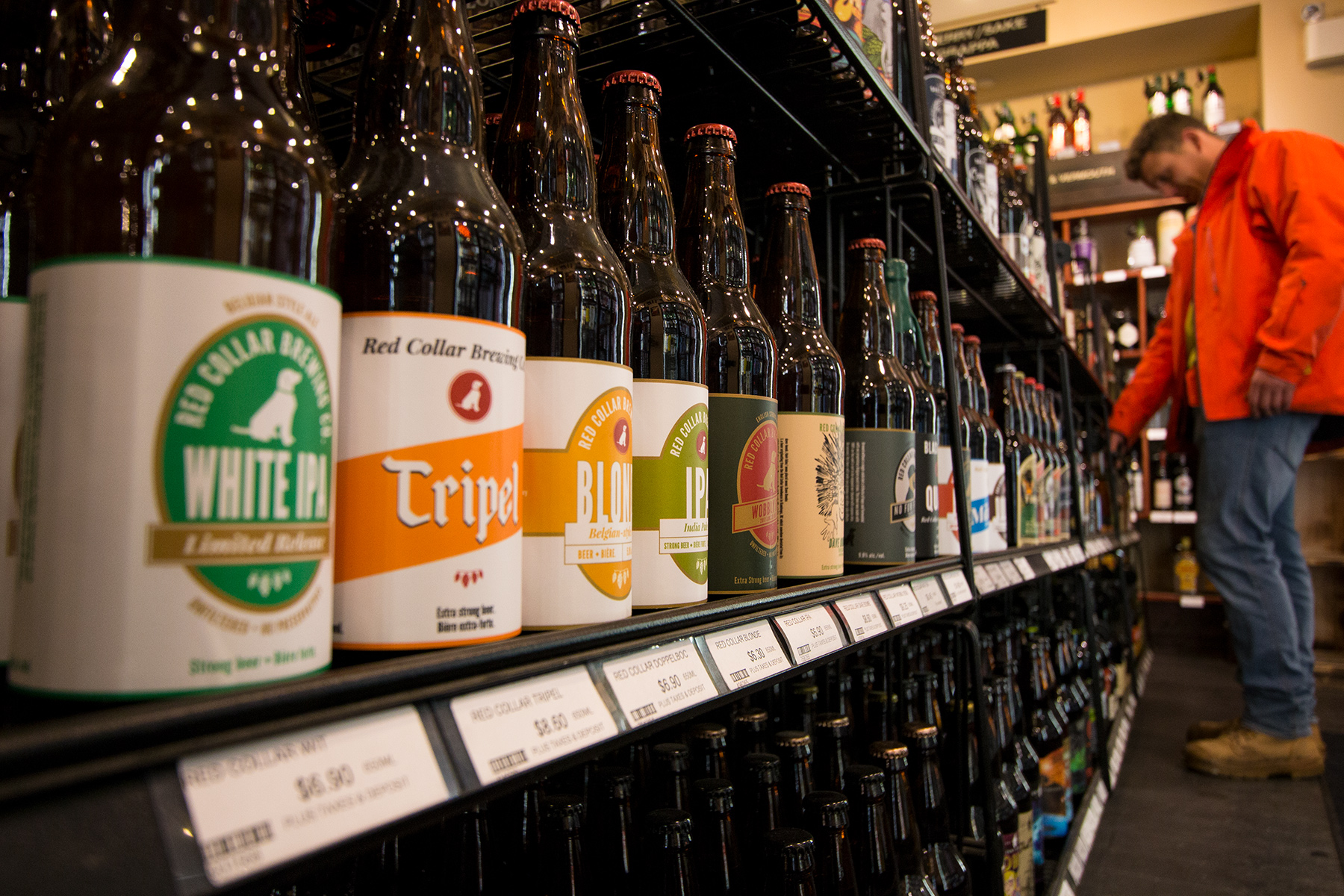 Craft beer at the Sundance Liquor Store
