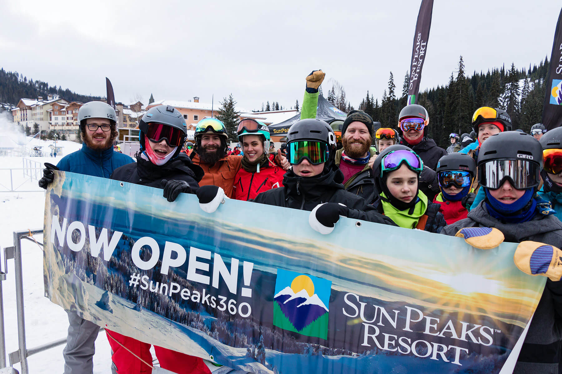 Winter 2019/20 Opening Day at Sun Peaks Resort