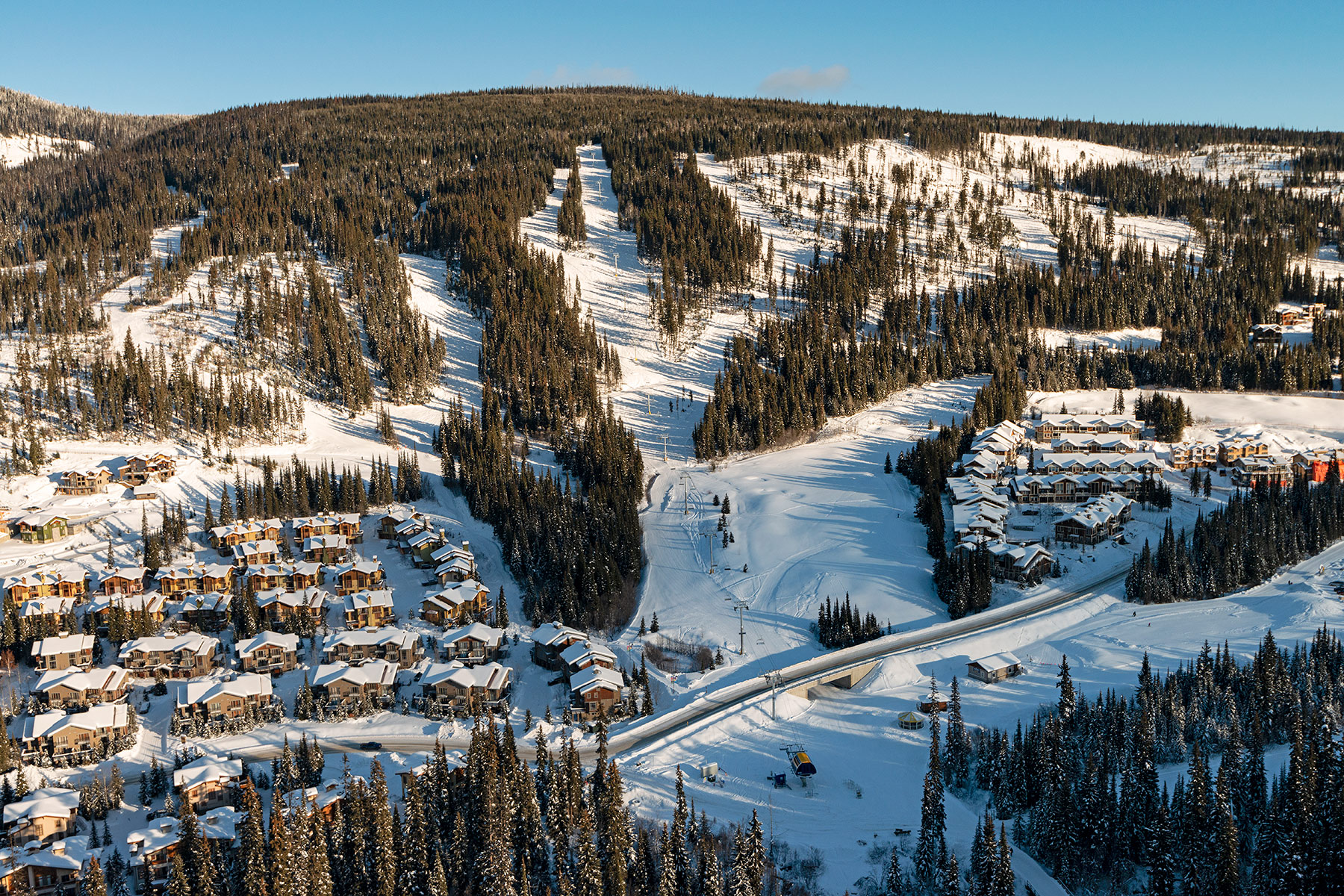 Aerial View of Orient Chairlift