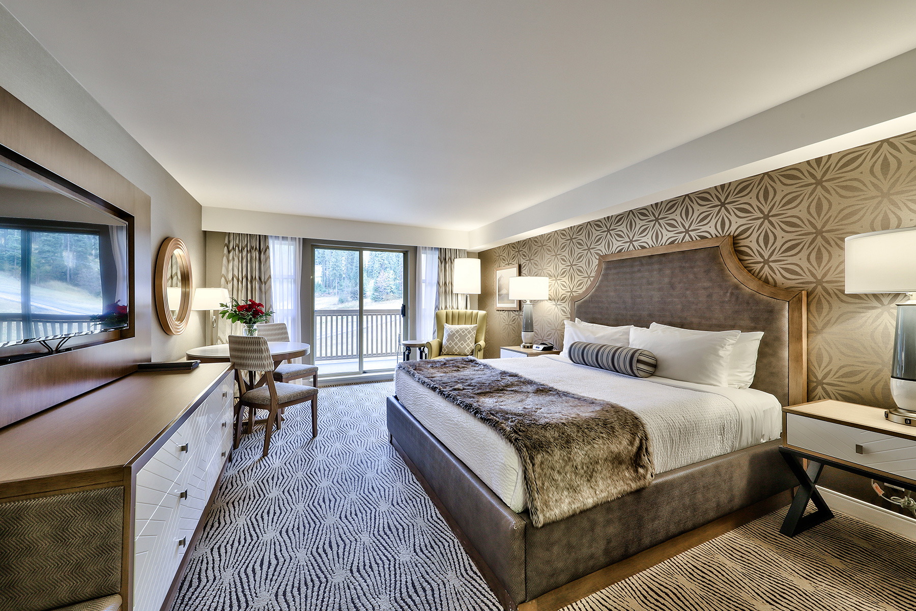 Newly Renovated Room at the Sun Peaks Grand Hotel and Conference Centre