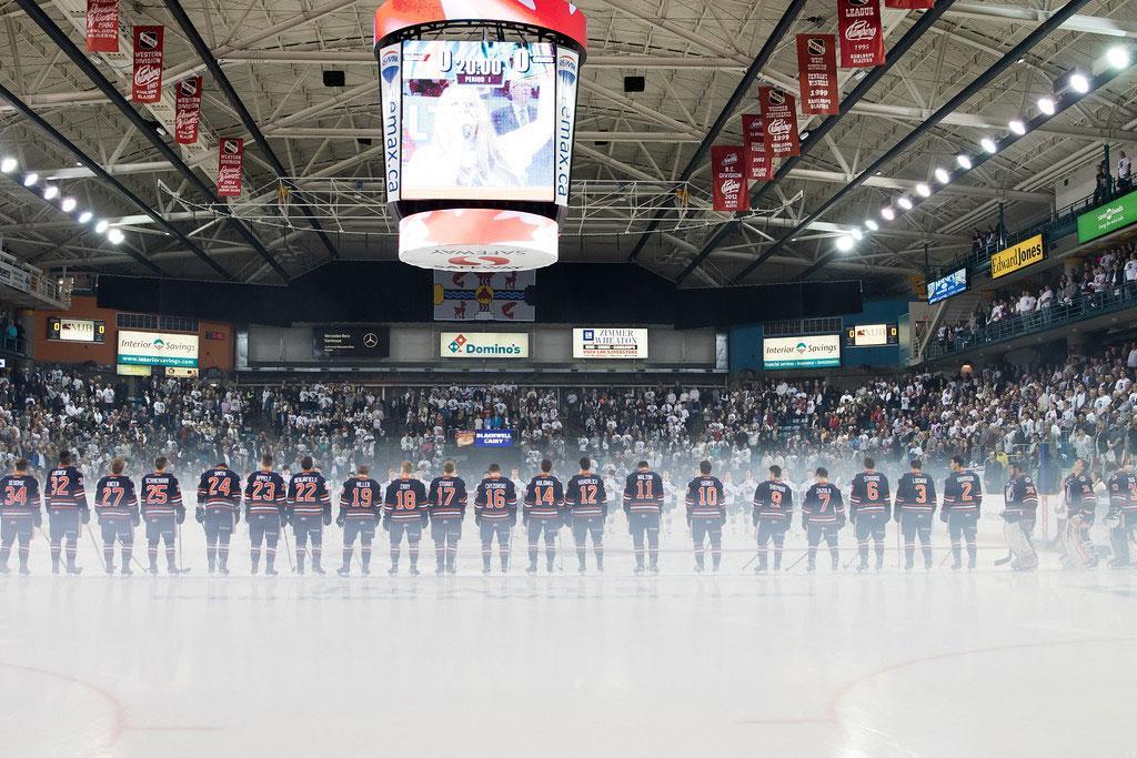 kamloops blazers hockey game