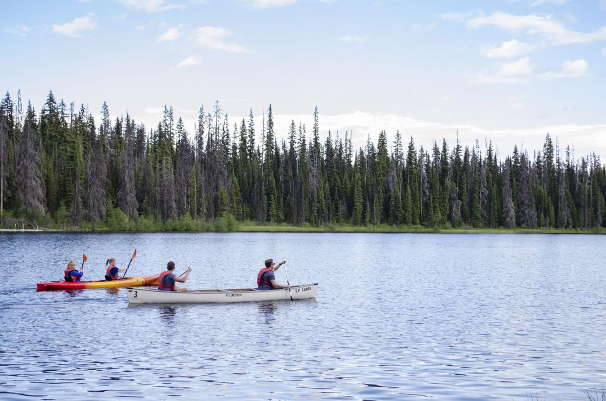 Canoe and Kayak rentals on McGillivray Lake.