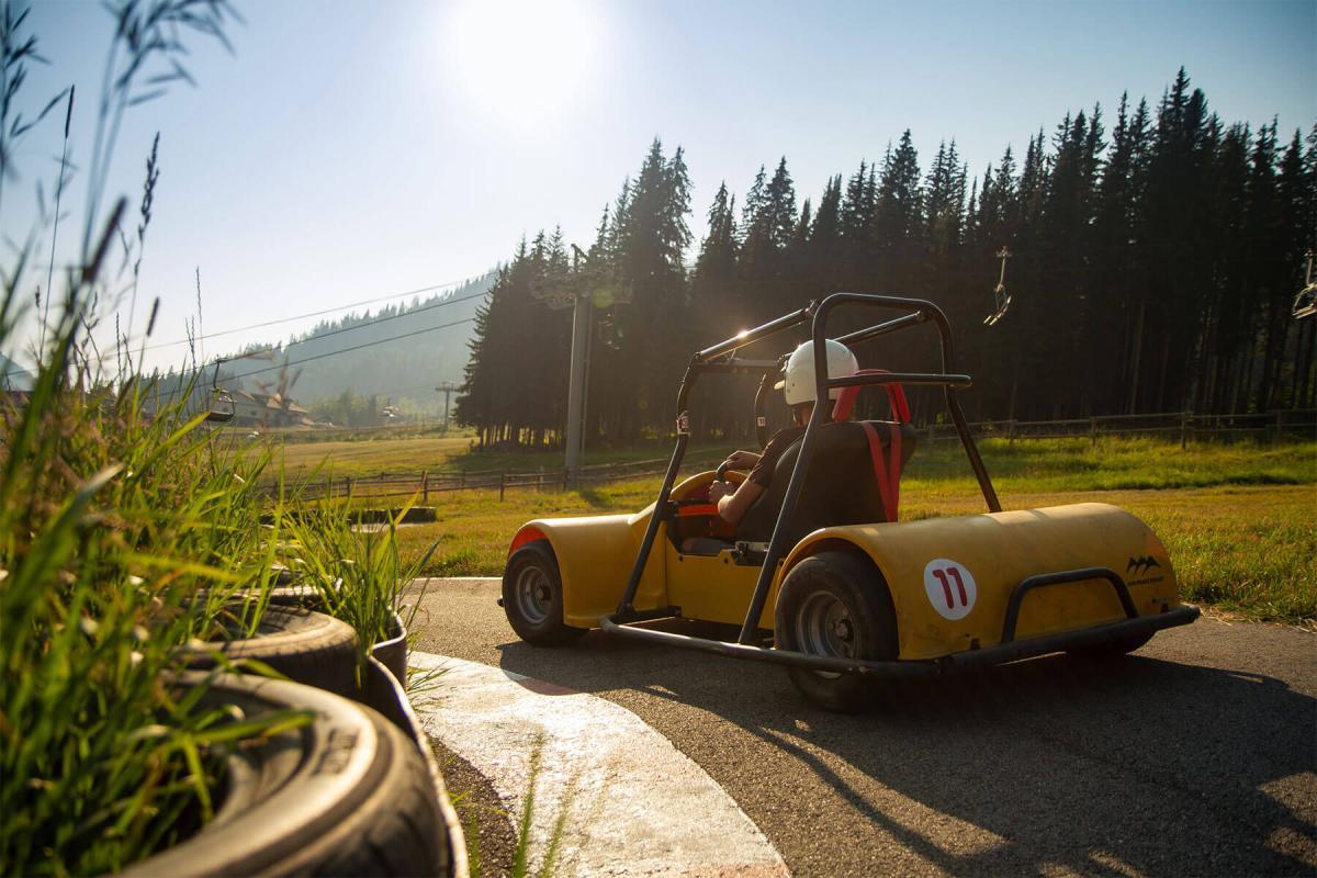 British Columbia S Bike Golf Ski Resort Sun Peaks Ski Resort