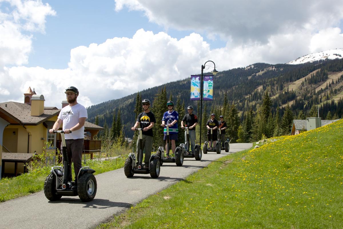 Off Road Segway Tours Sun Peaks Resort
