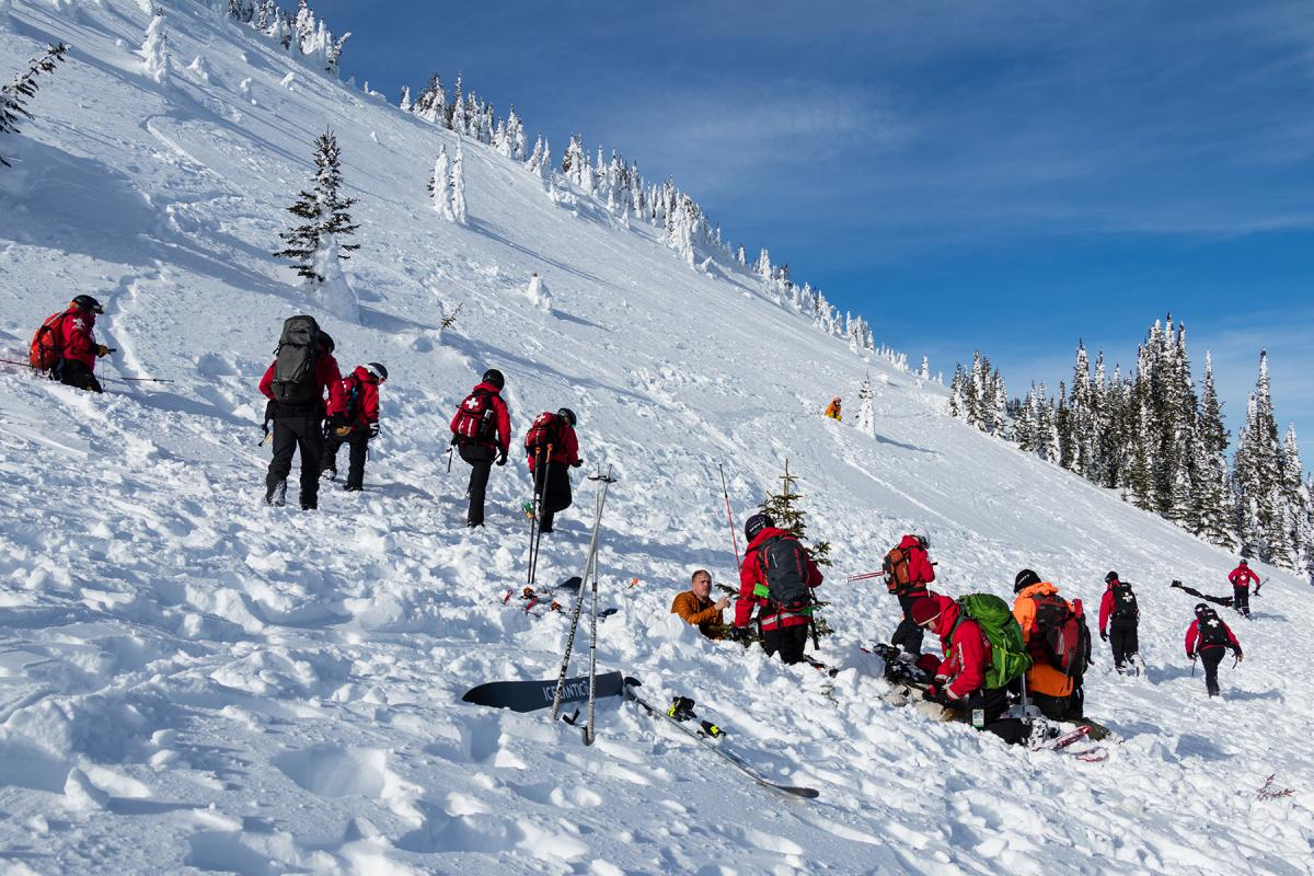Avalanche Exercise Helps Sun Peaks Ski Patrol Stay Sharp