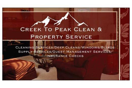 Creek to Peak Clean & Property Service