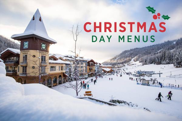 Christmas Day Menus