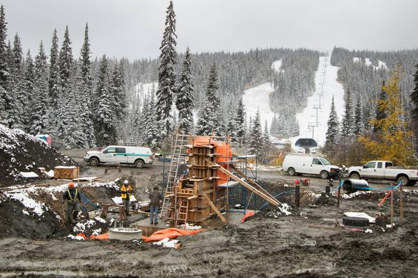 Project Update: Work Continues on The Orient Chairlift